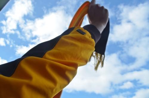 Hawks scarf